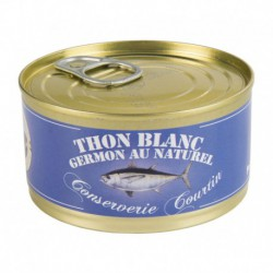 Thon germon au naturel 130 g