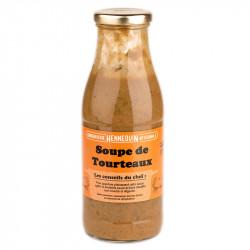 Soupe de tourteaux aux algues 50 cl