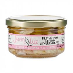 Filet de thon germon à l'huile d'olive 100g