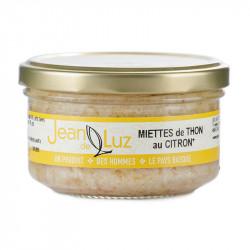 Miette de thon au citron et à l'huile d'olive bio