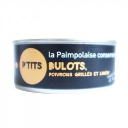 Ptits bulots, poivrons grillés et limon 215g