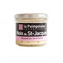 Noix de Saint-Jacques, tacaud et lard fumé